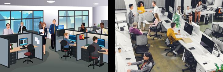 האם העיצוב המרחבי של המשרד מתאים לאישיות שלך?